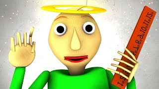 Рай Балди Baldis Basics 3D анимация