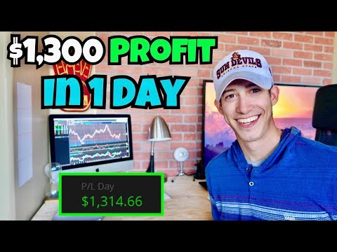 How I Made +$1,300 Profit In 1 Day | Investing 101