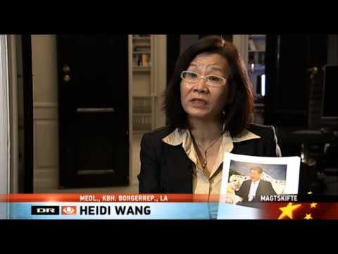 DR avisen interview Heidi Wang and Xue Xue på Nov 8 2012