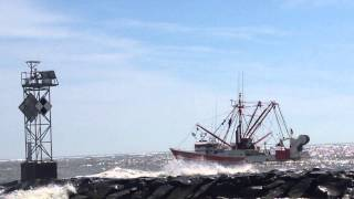 Fishing Boat Leaving the Ocean City Maryland Inlet 1
