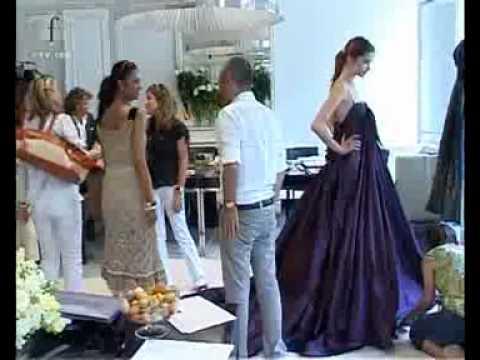 fashiontv | FTV.com – DESIGNER AT WORK – ELIE SAAB HAUTE COUTURE 2006