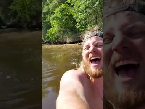 Joey Brooks - Man Tries to Catch Rope Swing Off Moving Boat and Falls