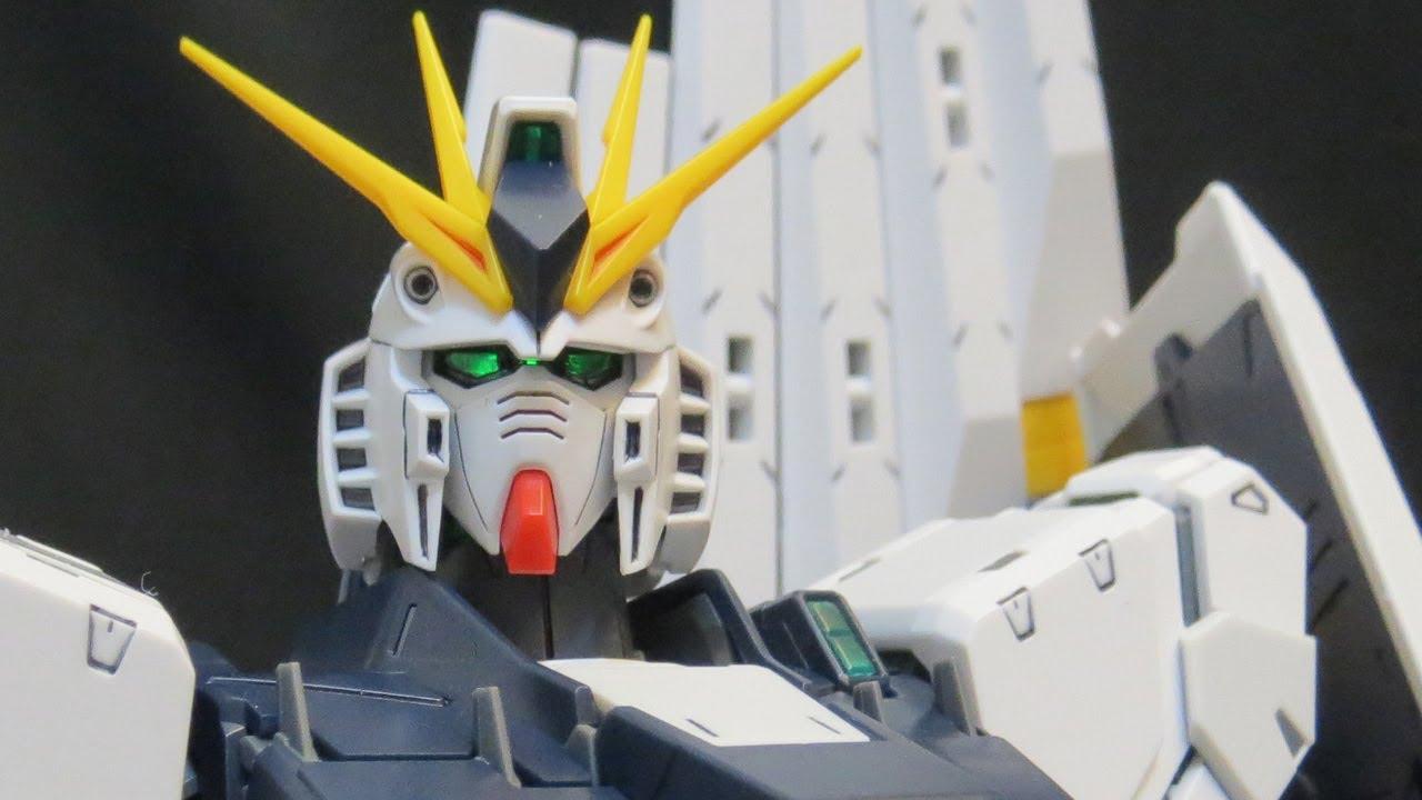Mg Nu Gundam Verka Part 1 Intro Chars Counterattack Amuro Ray Rx78 2 114215 Gunpla Review Youtube