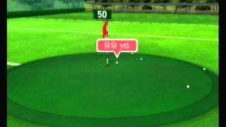 Wii Fit Plus Training Plus Part 4-1 Driving Range, Approach Shot