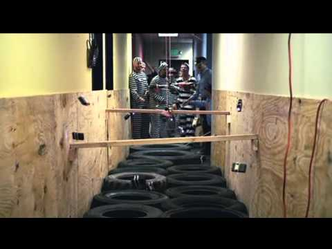Jackass 3D Electric Avenue (Taser Hallway)