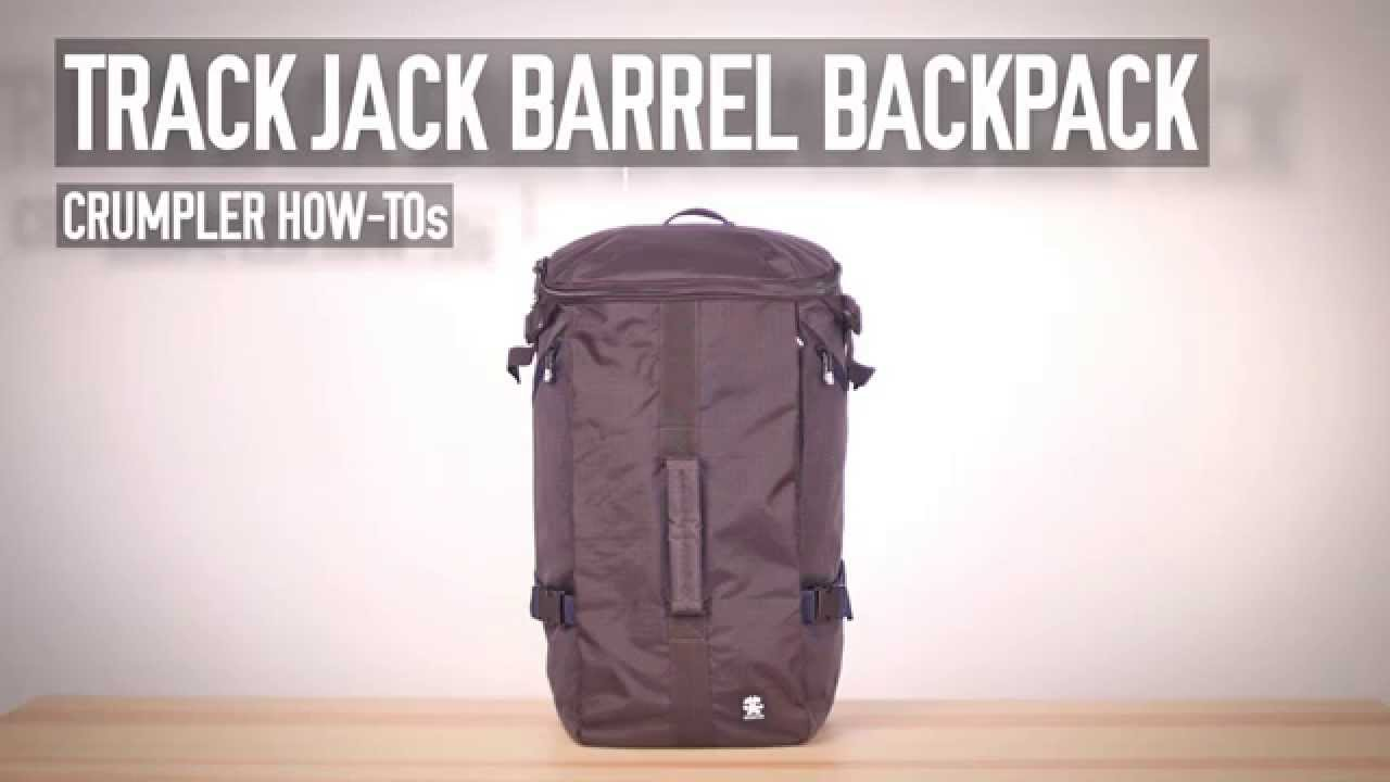 Tos Barrel How Backpack Crumpler Track Jack WDeE2YH9I