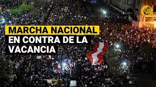 Perú: Así se vivió la Marcha Nacional contra el Gobierno de Manuel Merino