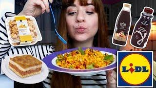 Τρώω μόνο έτοιμα φαγητά από τα Lidl για 24 ώρες | Miss Madden