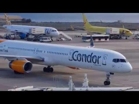 Ankunft Flughafen Las Palmas