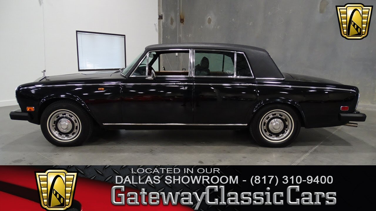 1976 rolls royce silver shadow stock 188 gateway classic for Rolls royce motor cars dallas