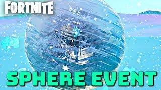 "New Fortnite ""Sphere Event"" Countdown - (Fortnite: Polar Peak Event Gameplay)"