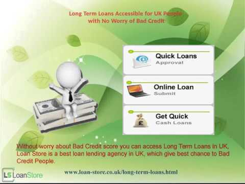 Long Term Loan Available for Bad Credit People on Best Deals UK