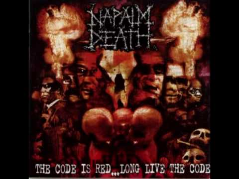 Napalm death the code is red long live the code