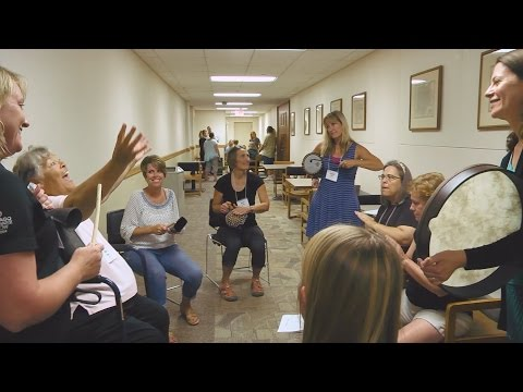 Drumming up new teaching techniques at the University of Iowa on YouTube