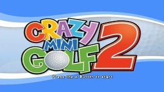 Crazy Mini Golf 2 Wii Gameplay