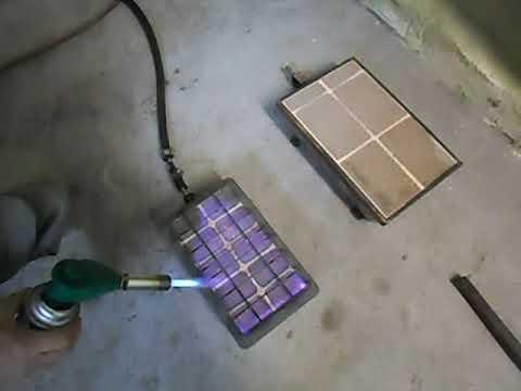 Газовый керамический инфракрасный обогреватель.