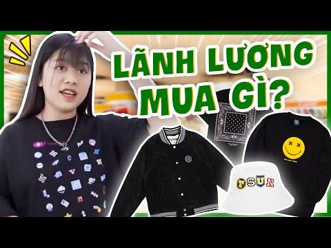 Nhi chi tiền triệu mua đồ Local brand để đi chơi Noel ??? | Lãnh Lương Mua Gì?
