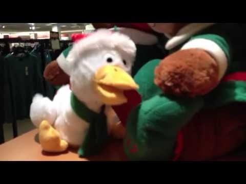 Musical Christmas toys