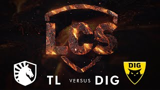 TL vs DIG | Week 8 | Summer Split 2020 | Team Liquid vs. Dignitas