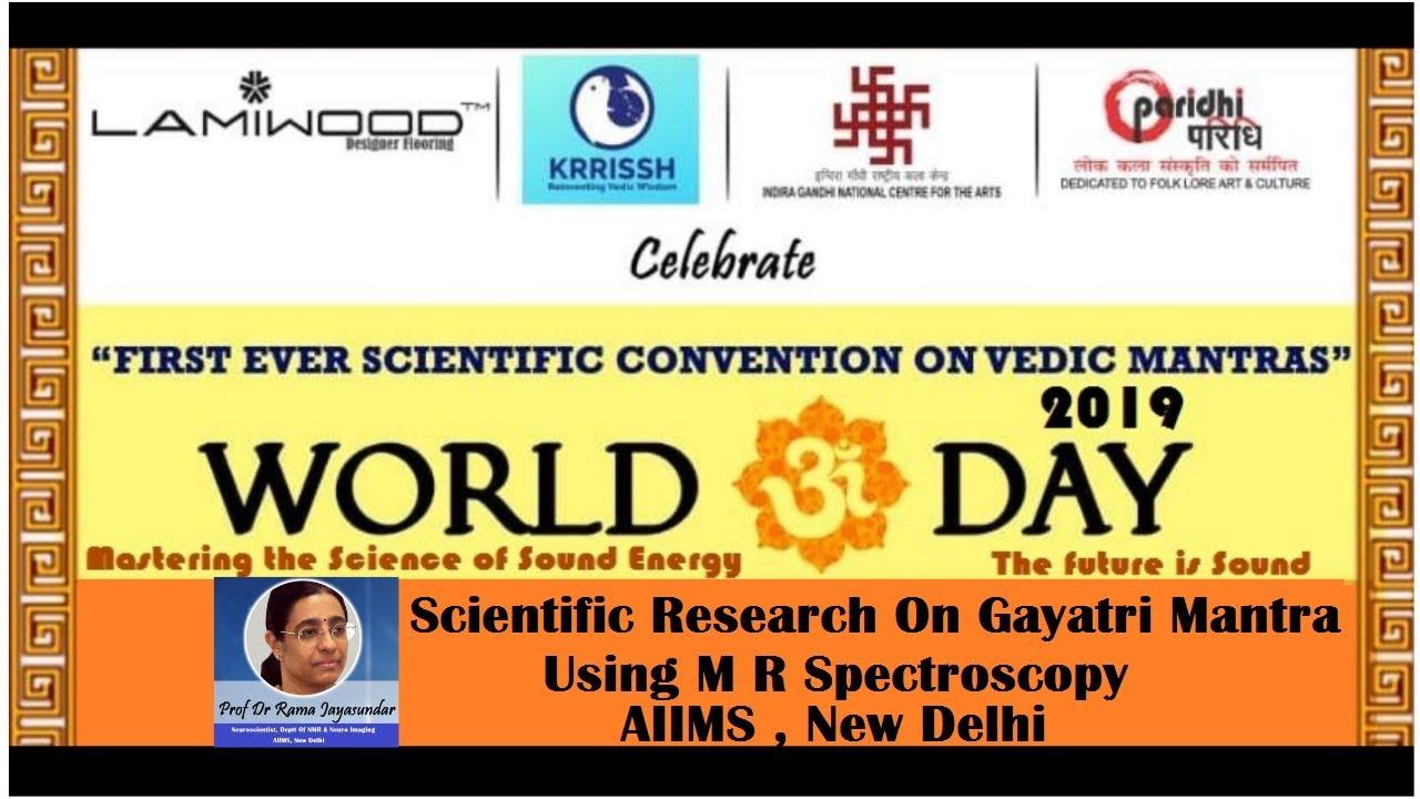Download 0021#Krrissh : Scientific Research On Gayatri Mantra using MR Spectroscopy: Prof Dr Rama Jayasundar