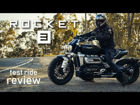 Triumph Rocket 3 test ride review