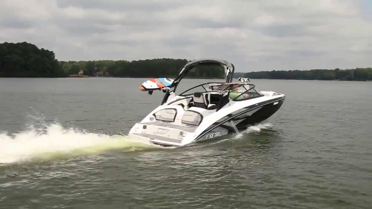 2017 Boat Buyers Guide - Yamaha 212X - YouTube