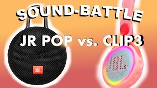 JBL JR POP vs  Clip 3   SOUND BATTLE binaural