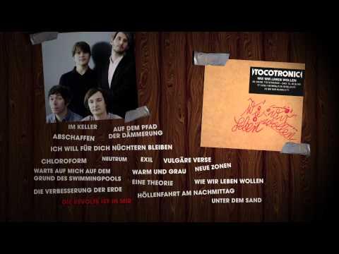 """Tocotronic - """"Wie wir leben wollen"""" Album Player"""