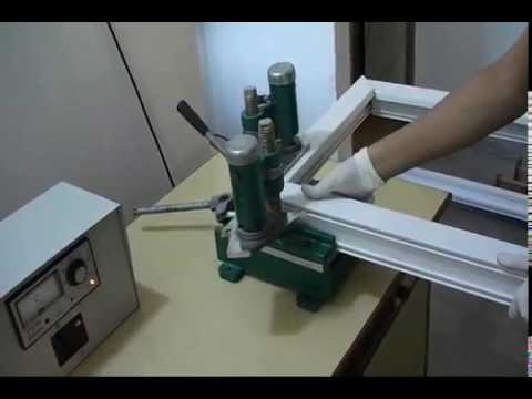 Upvc Portable Window Manufacturing Machine Youtube