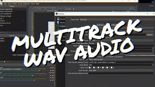 OBS Studio: How to record Podcasts & Interviews w/ Multitrack WAV Audio! (OBS Studio Multichannel)