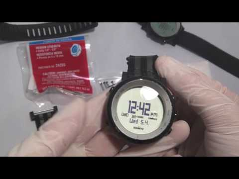 How to change strap on Suunto Core with NATO or ZULU using lug adapters #jaysandkays