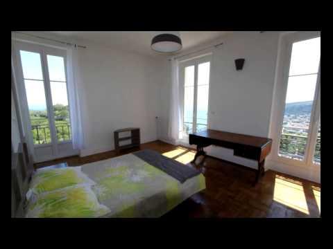 Location Meublée - Villa Villefranche-sur-Mer (MOYENNE CORNICHE) - 4 500 + 300 € / Mois