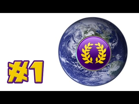 Let's Play: Civilization V - Rome - 22 Civs, Giant Earth Map! - Part 1