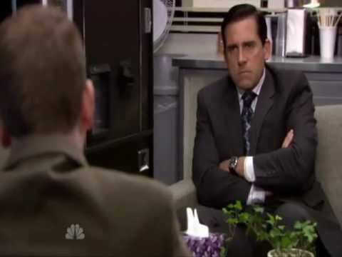Michael Scott's Therapy Session with Toby