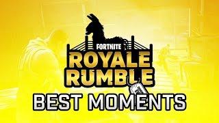 BEST OF ROYALE RUMBLE EVENT CON TFUE, BLINK46 E DIMO! | Fortnite Battle Royale