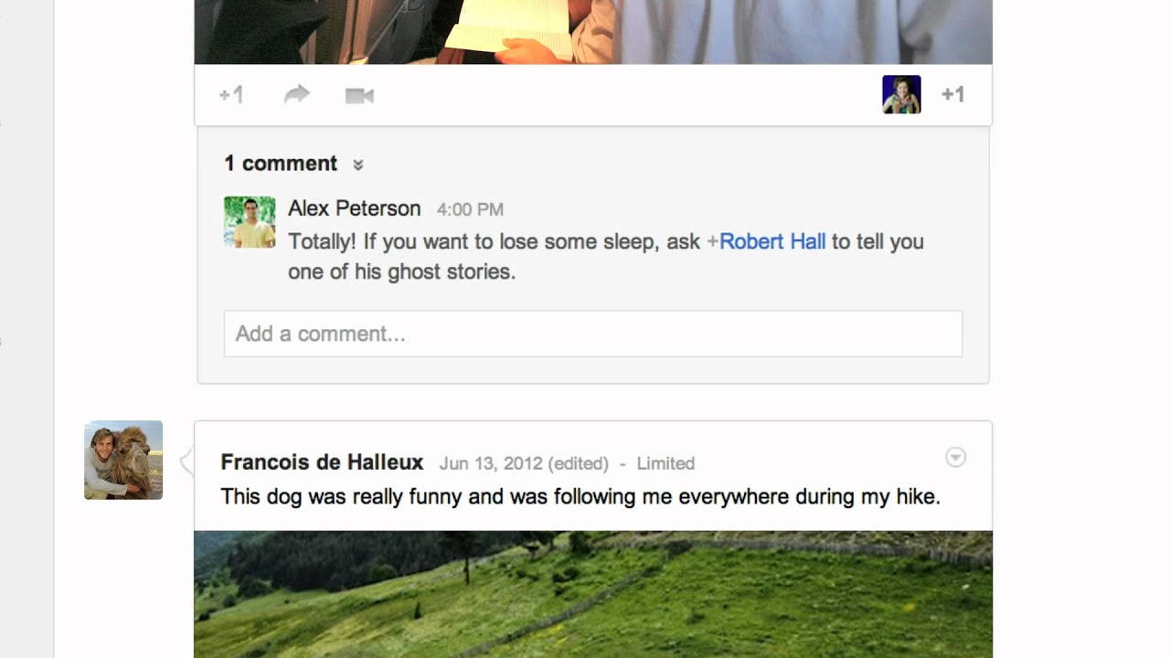 how to find someone youtube with google+