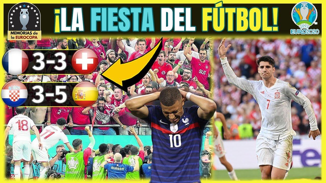 EURO 2020 (La Noche + LOCA) ⚽🔝 Croacia 3 España 5 🇭🇷🇪🇦 Francia 3 Suiza 3 🇫🇷🇨🇭