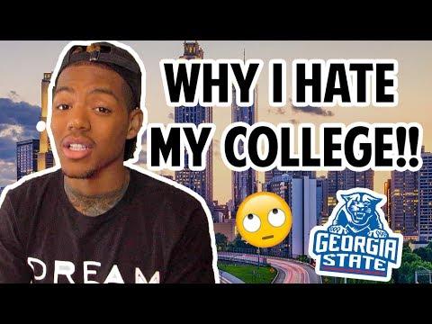 📚 WHY I HATE MY COLLEGE!! [Georgia State University] | Tarek Ali