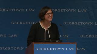 Mary Sarah Bilder delivers Georgetown Law's 2019 Thomas F. Ryan Lecture