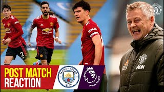 Solskjaer, Fernandes, Maguire & Lindelof React to Derby Win | Manchester City 0-2 Manchester United