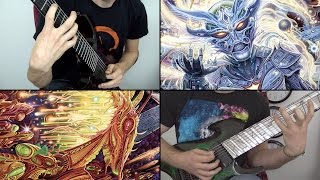 Rings of Saturn Godless Times Lucas Mann & Miles Dimitri Baker LIVE Guitar Playthrough