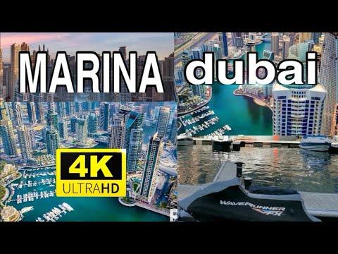 Cantiknya Dubai Marina, 4K VIDEO..