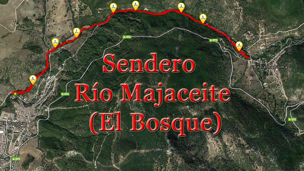 Sendero Río Majaceite (El Bosque, Cádiz)