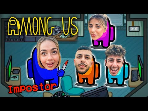 AMONG US but IN REAL LIFE!! (Imposter IQ 999)