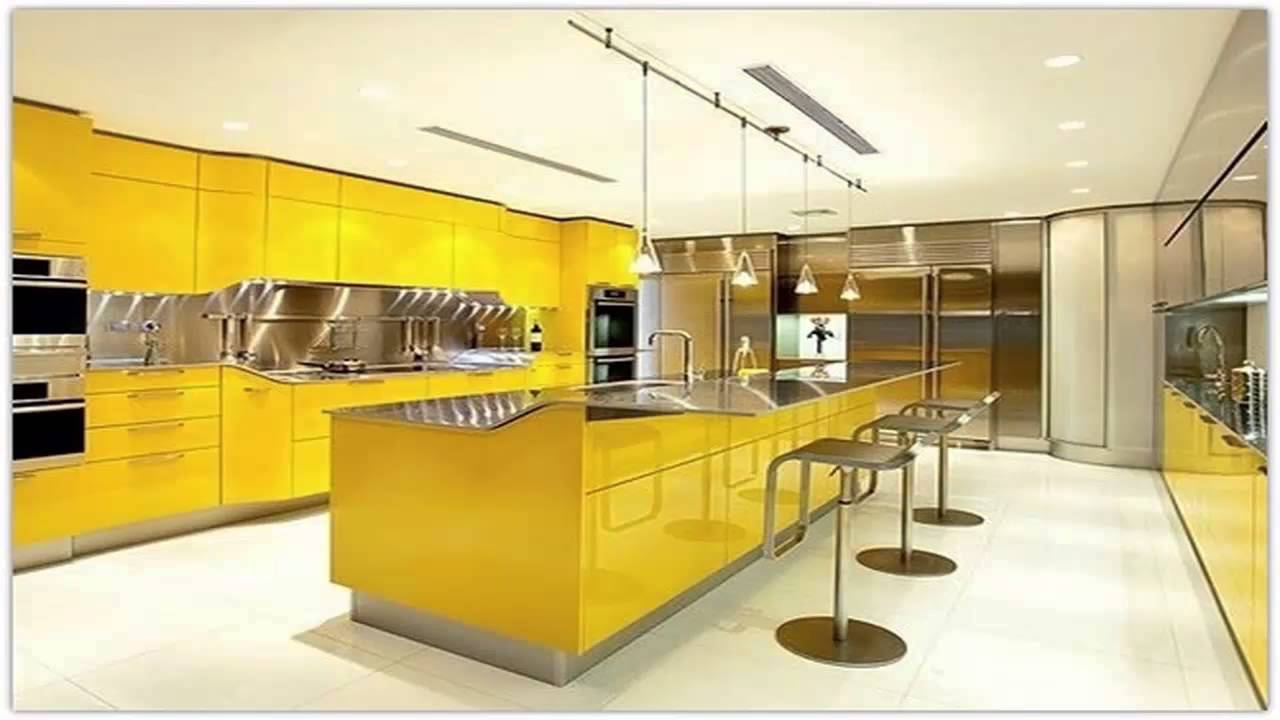 مطابخ صفراء yellow kitchens - youtube