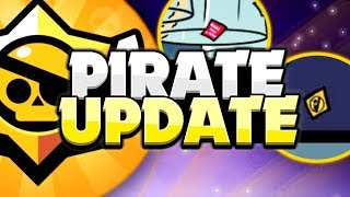 NEW Pirate Update Leaked? - December Brawl Stars Update Info & Speculation!
