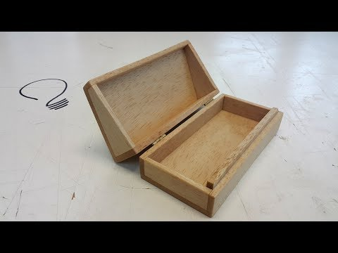 How To Make a Glasses Case out of Wood (No Saw Required!)