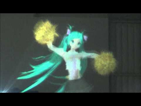 Hatsune Miku Hologram (Sing And Smile)