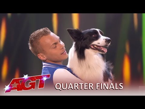Lukas & Falco: This Cute Dog Act Is So SPECIAL, Says Simon Cowell!| America's Got Talent 2019
