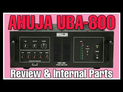 Ahuja Uba 800 Amplifier Dj Hps Production Youtube